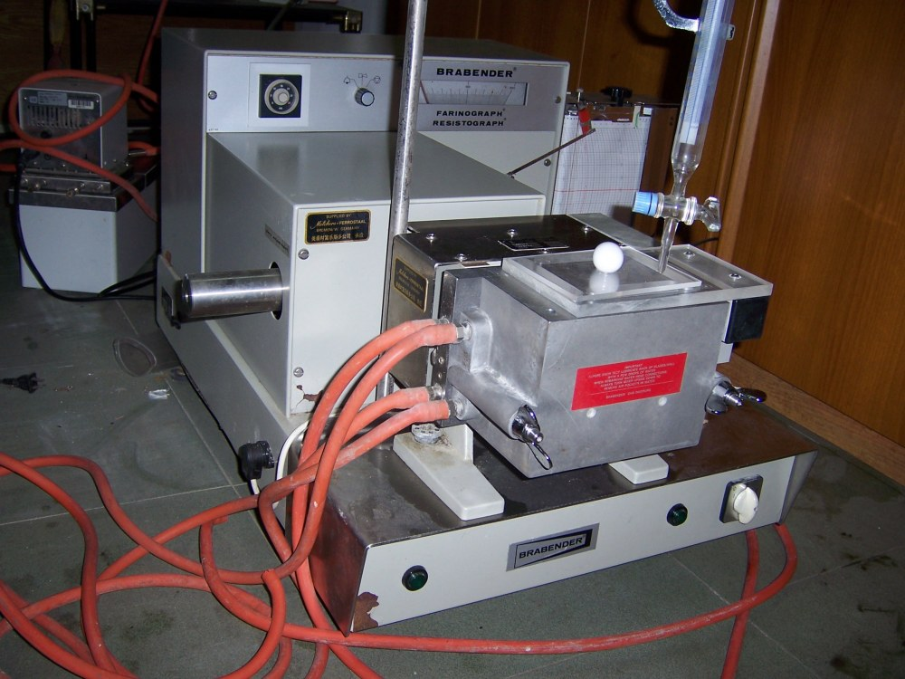 Used Flour Mill Brabender Farinograph Lab Instruments